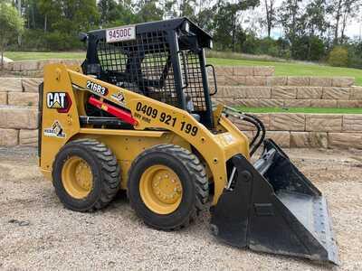 Hire CAT 216B3 Skid Steer 2.5ton