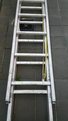 Hire Extension Aluminium Ladder