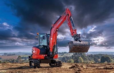 Kubota 5.5 Tonne Excavator For Hire