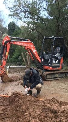 Hire 2.5t Kubota U27-4 excavator