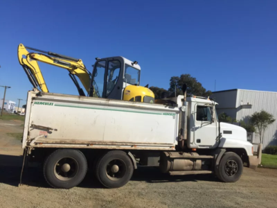 Hire Combo 5T Excavator and 10m Truck