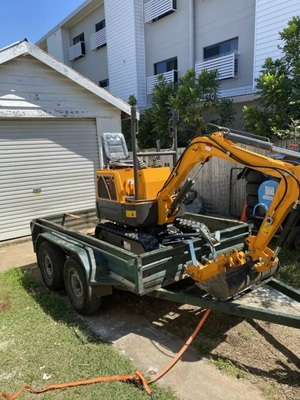 Hire 1 Ton excavator - Wellington Point, Cannon Hill, Carina Heights, Burbank, Thornlands, Lytton