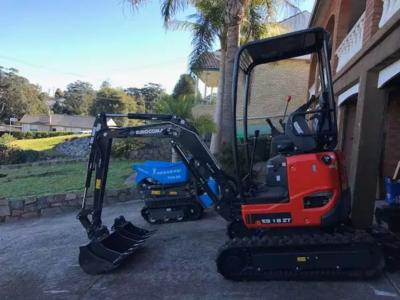 Hire 1.8T Mini Excavator