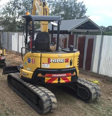 Hire Excavator 5.5 Tonne