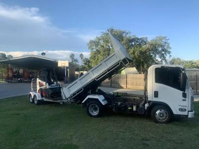 Hire 2 Ton Tipper Truck - Car License