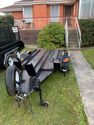 Hire MotorBike trailer