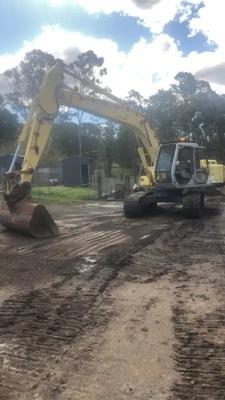 Hire 20T Excavator