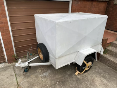 Enclosed Box Trailer for Hire / Rent $30/day