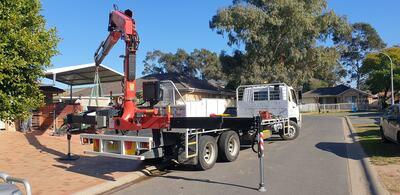 Hire Crane Truck