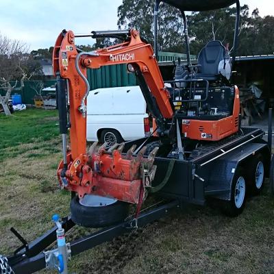 Hire 1.8T Hitachi Mini Excavator