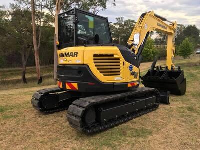 Hire Excavator 8.5 Tonne