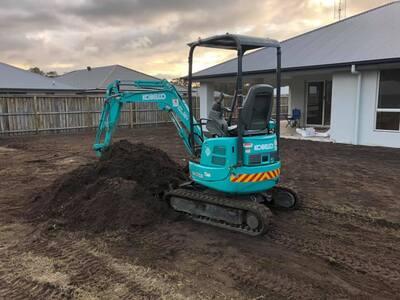 Hire 1.7T Kobelco Excavator