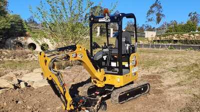 Hire CAT 301.7 Excavator 1.7t