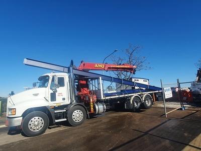Hire 7 Tonne Crane Truck