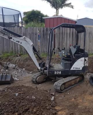 Hire Excavator 1.5T