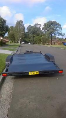Hire Car Trailer