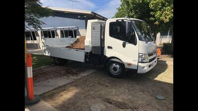 1.7t excavator,  PT30 positrack or Mini Digger (Dingo) and Tipper truck combo for wet hire (with operator) Wulkuraka, Leichhardt, Ipswich, Amberley, One Mile, Churchill, Yamanto