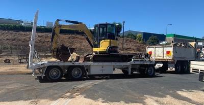 5T Compact Excavator Hire Yanmar