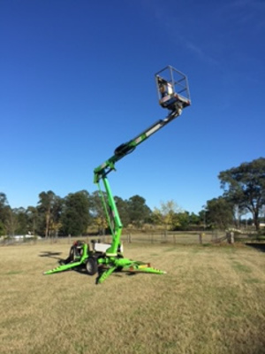 Hire Cherry Picker – Nifty 120T