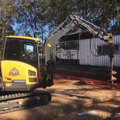 Hire 3.5T Volvo Excavator
