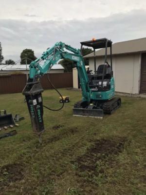 Hire Kobelco SK17SR 1.7 Ton Excavator