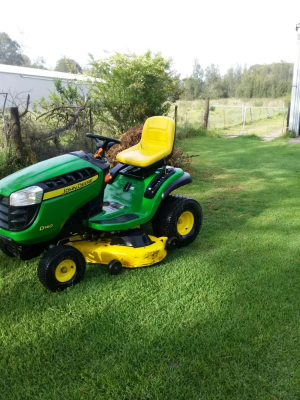 Hire Ride on mower
