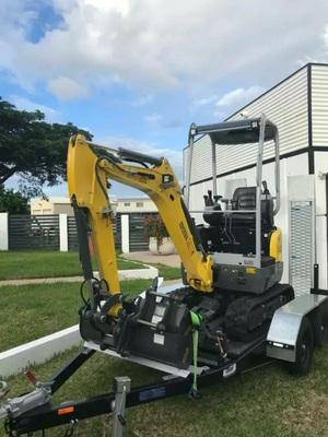Hire 1.7t Mini Excavator near Bundaberg