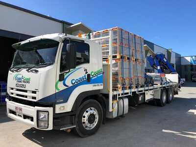 Isuzu Crane Truck for hire - Mount Warren Park, Beenleigh, Eagleby, Windaroo, Yatala, Stapylton, Bannockburn, Wolffdene, Luscombe, Ormeau