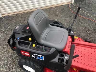 Hire Toro Zero-turn Ride on Lawnmower