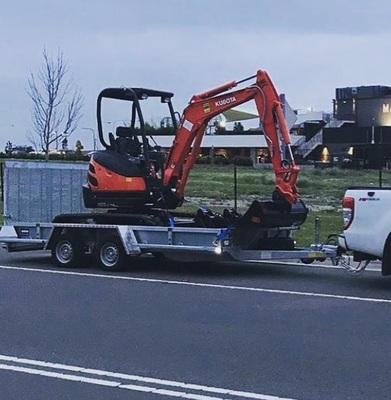 Hire Kubota 2.5T Excavator