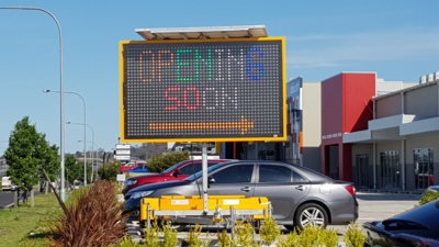 Hire Variable Message Signs