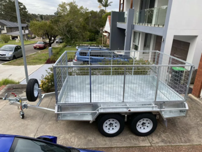 10x6 Caged Trailer for Hire /Rent $45/day