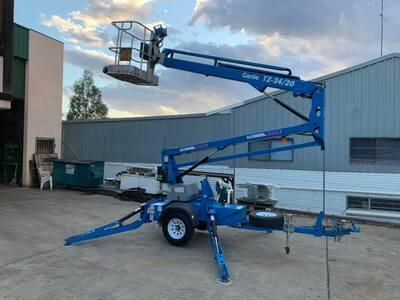 Hire Genie TZ34/20 Boom Lift