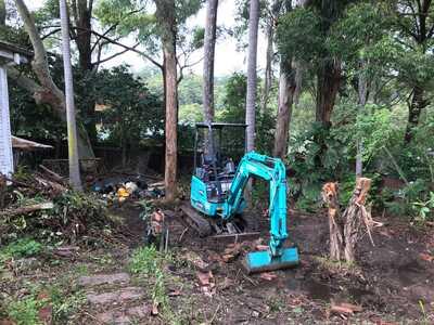 Hire 1.7T Kobelco Mini Excavator with Operator