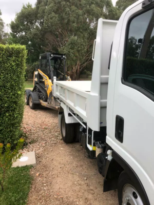 Hire Bobcat and Truck Combo