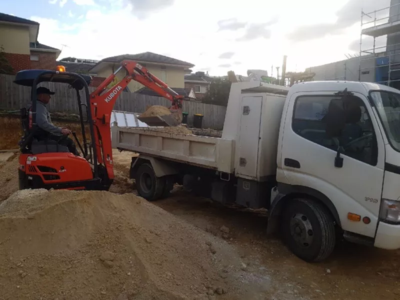 Hire Combo 1.7t Excavator, Kanga Loader and 3t Tipper