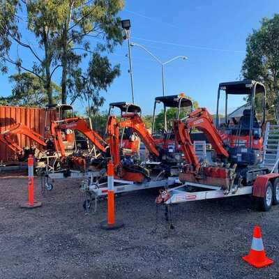 Kubota u17 1.7t mini Excavator diggers for Dry Hire- Maudsland, Pacific Pines, Gaven, Molendinar, Mount Nathan, Nerang, Ashmore, Advancetown, Gilston, Highland Park and Carrara in Queensland