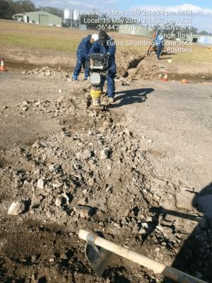 Hire 1.8T excavator